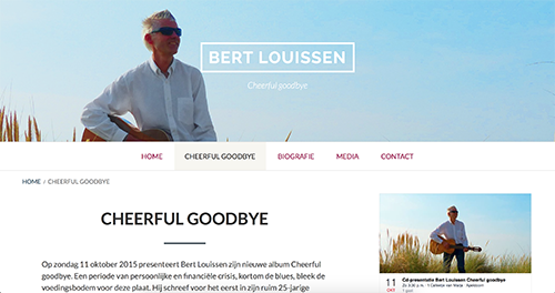 Website Bert Louissen